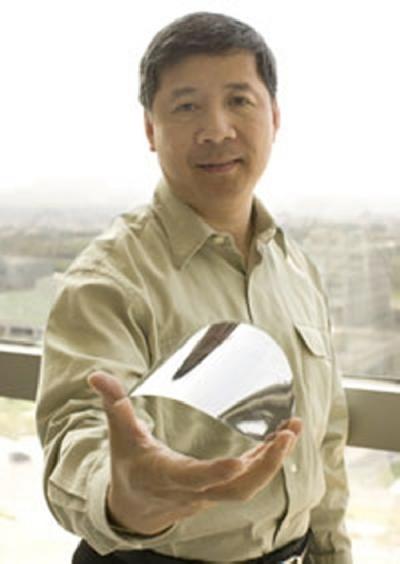 Đoàn Trí Trung được mệnh danh là ngôi sao đang lên của lĩnh vực chip LED (chíp điot bán dẫn trong công nghệ thông tin).